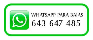 whatsapp para bajas vehículos